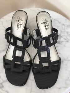 Black Dressy Shoes,mint condition