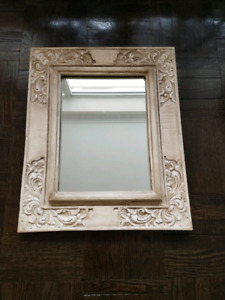 Beautiful wooden carved mirror