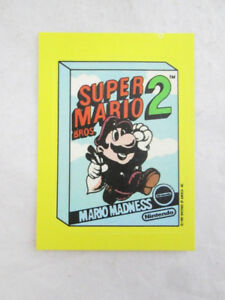 1989 Topps NINTENDO Sticker Cards  Vintage 1 to 33 Missing # 10
