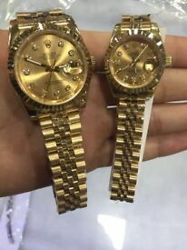 Both men and womens watches rolex
