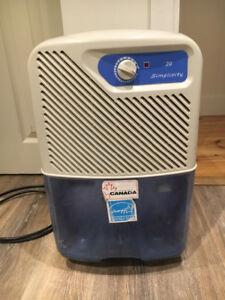 Simplicity Dehumidifier