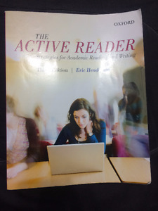 The Active Reader| Strategies for Academic Reading and Writing