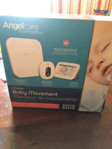 Angel Care Video Monitor With Motion Pad BRAND NEW