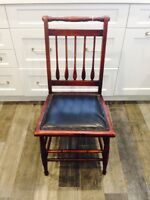 6 Antique dining room chairs