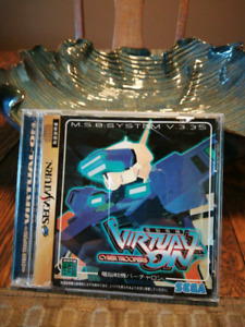 Virtual on sega saturn - japanese version