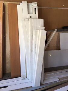 """Free in Airdrie - approx 9 - 12"""" sections of vinyl fence"""