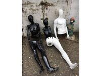 Manequins - clothes shop