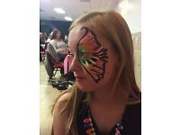 Face painter. Niffa's Nifty Facepainting and glitter tattoos