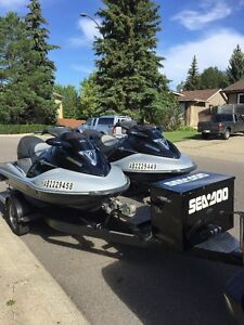 2005 Seadoos and Trailer