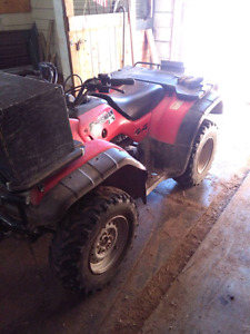 Parting out honda foreman 450