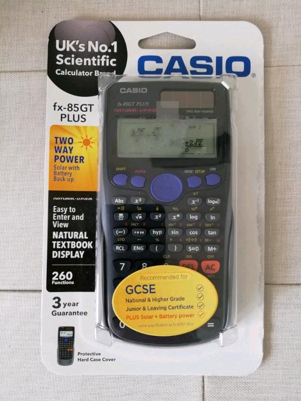 Casio fx-85GT PLUS Scientific Calculator   in Teignmouth, Devon   Gumtree