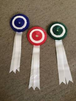 Rosettes - 2 lots of 1st, 2nd & 3rd place