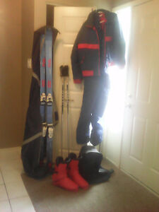 Complete ski outfit...7 pieces