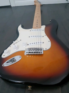 Fender stratocaster MIM LEFTY mint