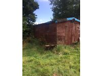 A large shed 20x 10 feet approx