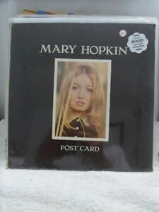 1969-MARY HOPKIN-Postcard-Apple-ST-3351-LP Factory Sealed.