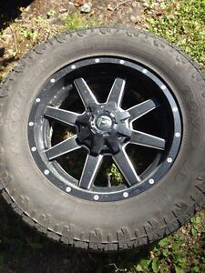 20 inch 8 bolt dodge rims and tires