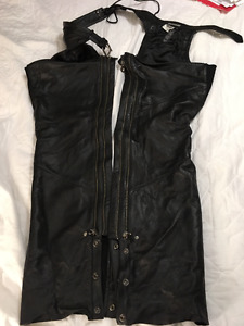 Harley Davidson Ladies Pant Leathers - Size L - Tall
