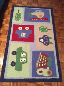 Pottery Barn kids Transportation Rug