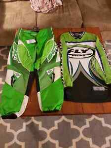Motocross pants and jersy