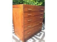 Plan chest / haberdashery drawers