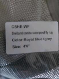 £40 Brand new 4'6 waterproof fly rug