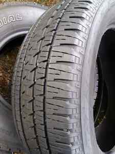 285/45/r22 BRIDGESTONE DUELLER ALL SEASON TIRES