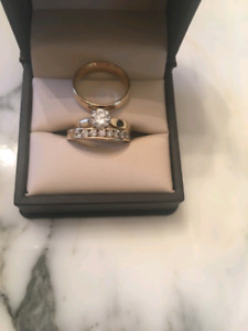 14-karat gold and diamond rings for sale