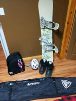 Firefly Eccentric Snowboard, Boots, Bindings W/ Extras