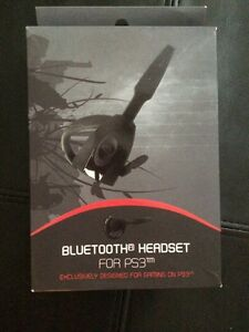 Mint condition bluetooth headset