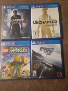 PS4 games for sale $70