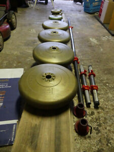 York Vinyl Weight Set