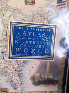The illustrated atlas of the 19th century world,East  Belleville