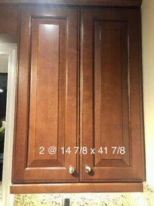Used Kitchen cabinet doors and drawer faces. Maple wood