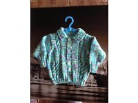 Range of Homemade brand new knitted jumper and cardigans for children