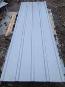 Brand New Grey Steel Roofing 15pcs At 10 Feet Long