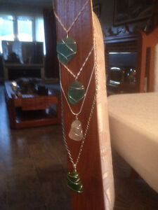For Sale: sea glass necklaces