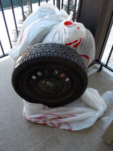 Four Gislaved Nord/Frost Winter Tires - Size 205/55 R 16