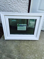 White Triple Pane LoE Picture Window for Sale !