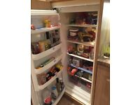 Integrated larder fridge. White
