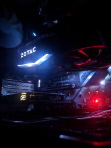 ZOTAC GTX 1080 AMP EDITION 8GB FIRM / NO NEGO