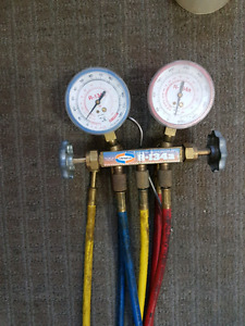 gauge heating and cooling Uniweld R-134a perfect condition