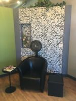 Stylist stations available for immediate lease