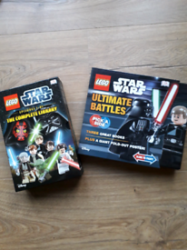 Lego Star Wars books & poster - New