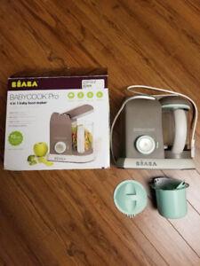 Beaba Babycook Pro baby food maker / Dr Brown's bottle warmer