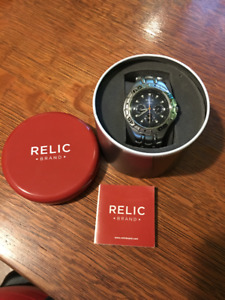 Relic All-Stainless Steel Analog Watch