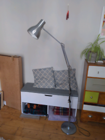 Freestanding Anglepoise lamp