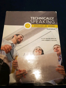 Technically Speaking, English at work 3e edition