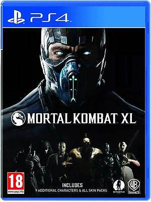 Mortal Kombat XL PS4 Sony PlayStation 4 Game Brand New Sealed