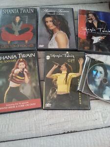 DVD's de Shania Twain (Concerts, vidéos)